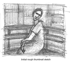 02_Woman on stool-initial thumbnail